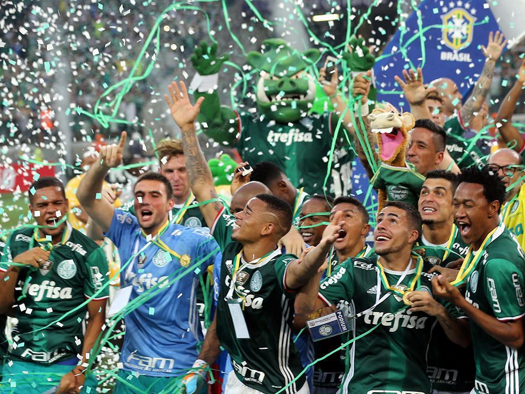 Palmeiras é campeão Brasileiro (Reuters)