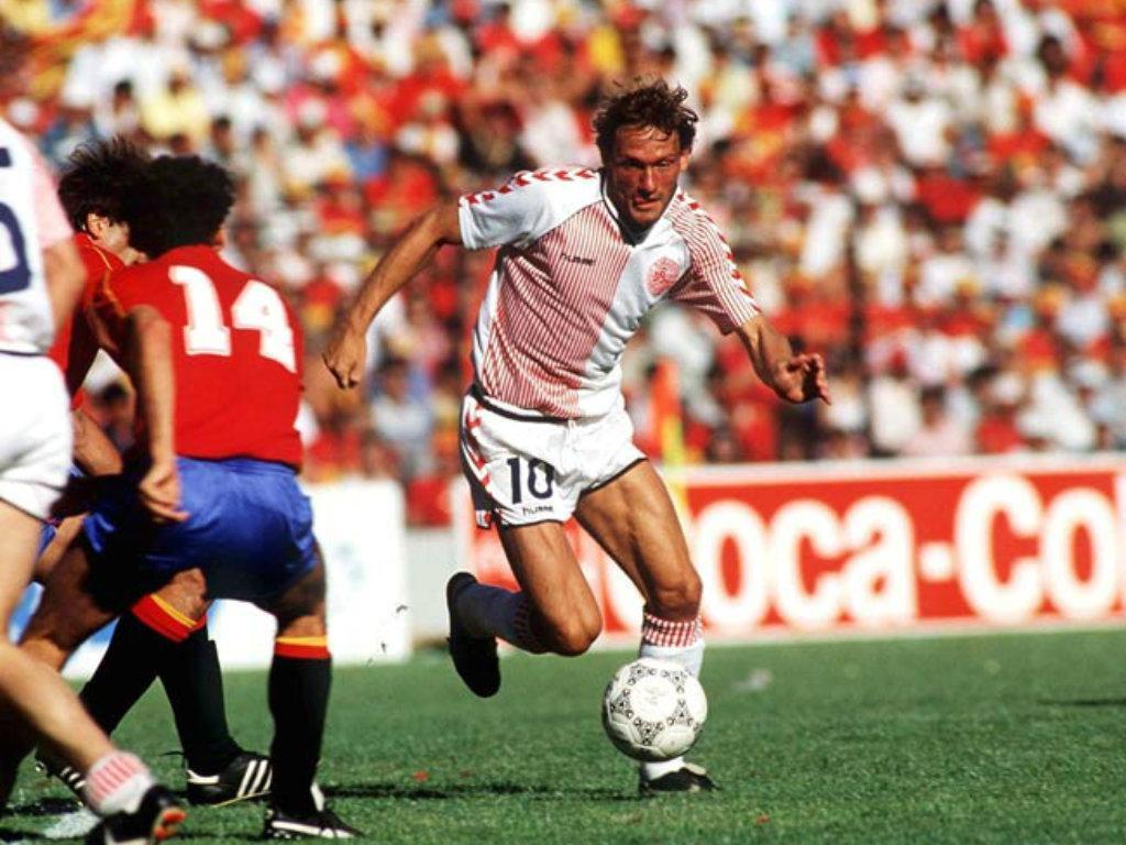 Dinamarca-Espanha, 1986