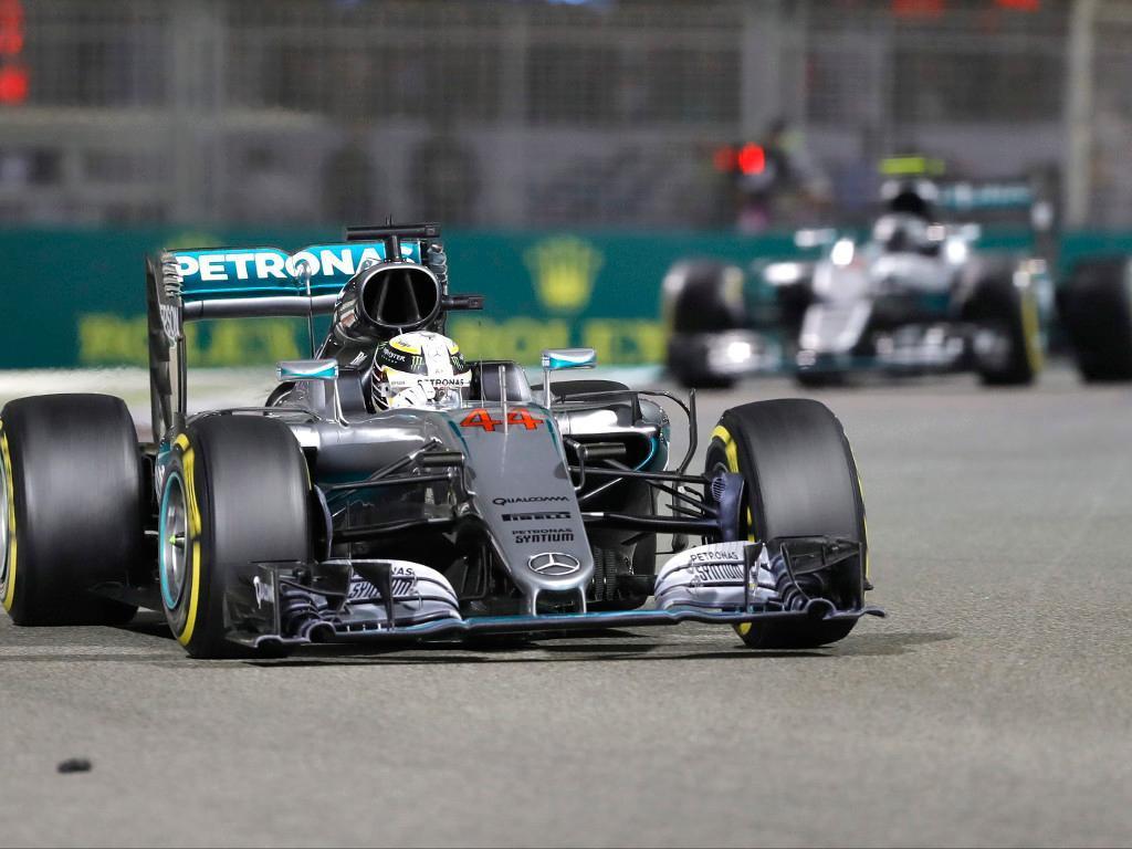 Hamilton e Rosberg