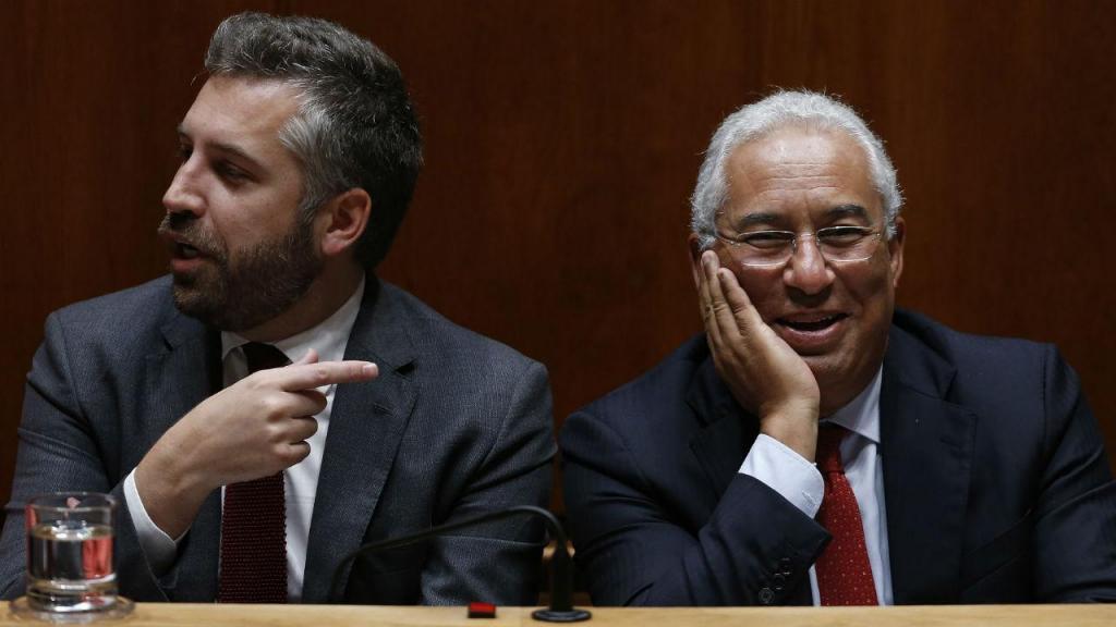 Pedro Nuno Santos e António Costa