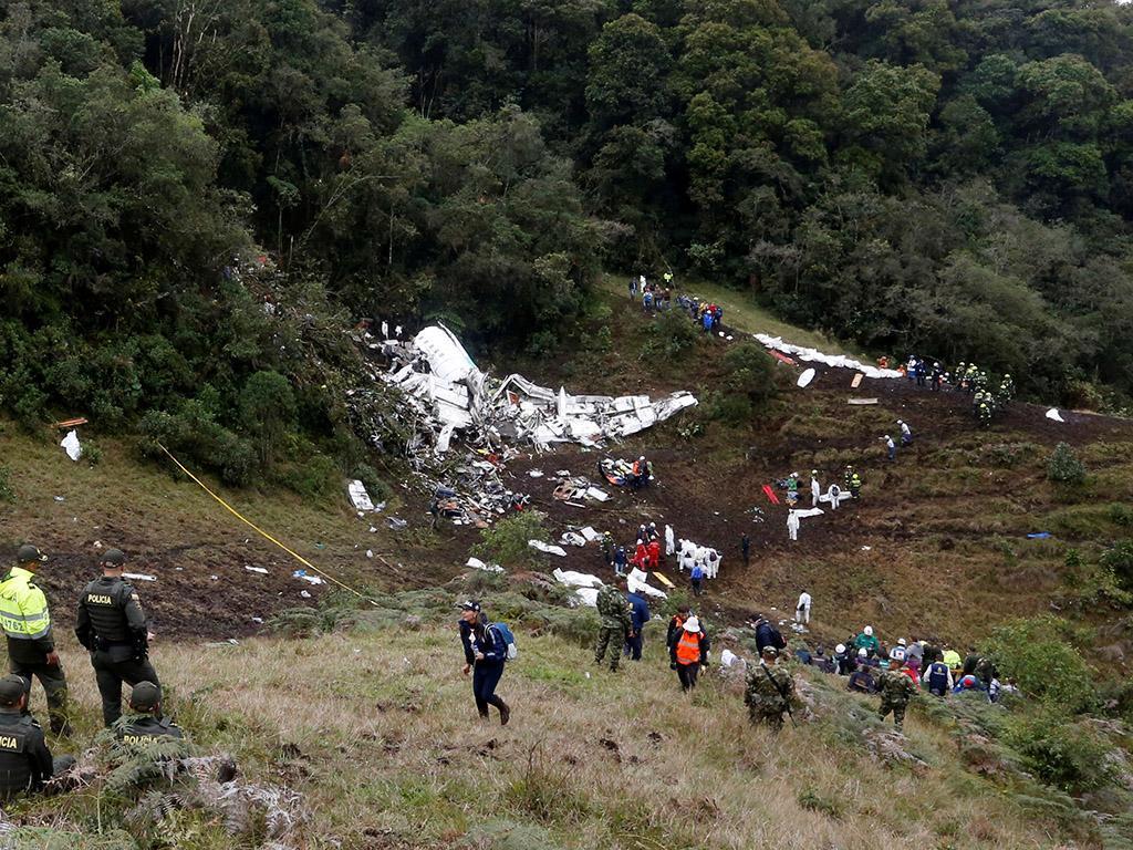 Queda do avião da Chapecoense (Reuters)