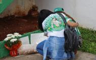 Adeptos da Chapecoense choram tragédia (Lusa)