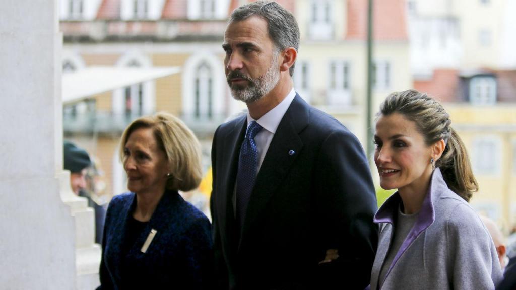 Reis de Espanha em visita oficial a Portugal