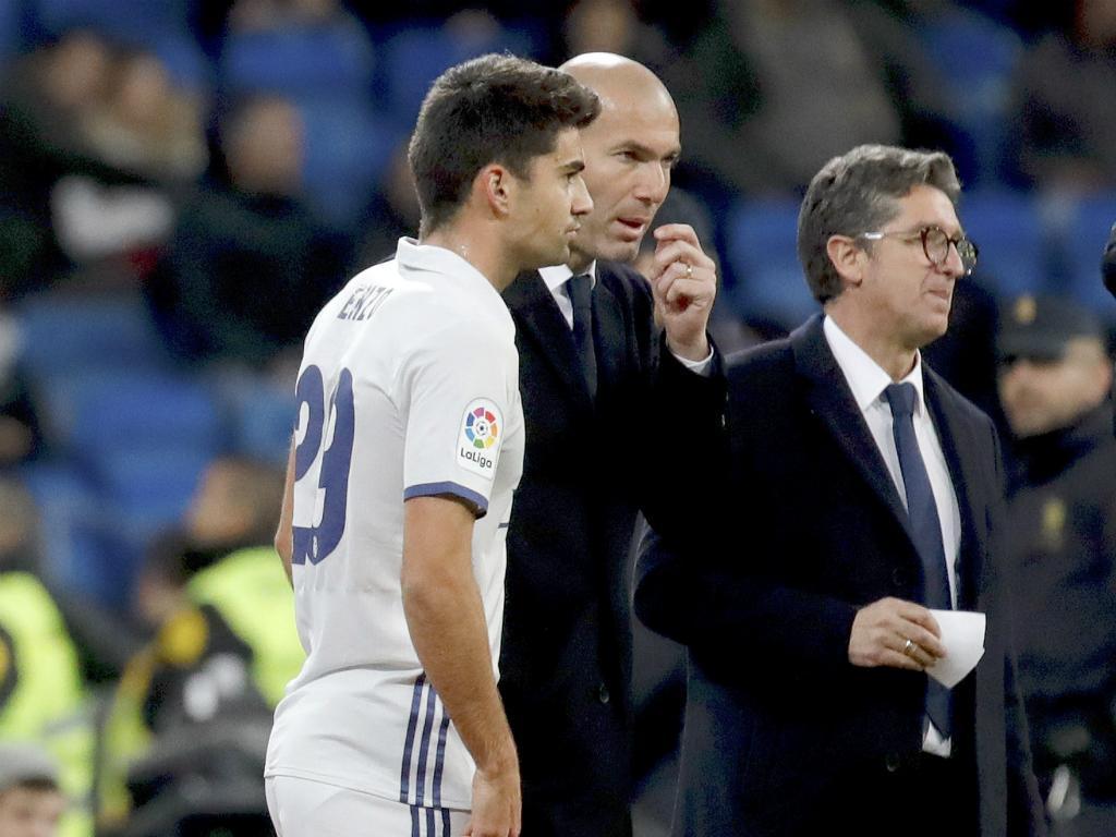 Zidane com Enzo