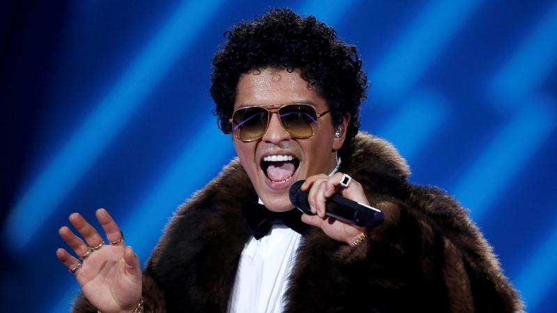 Bruno Mars no desfile da Victoria Secret 2016