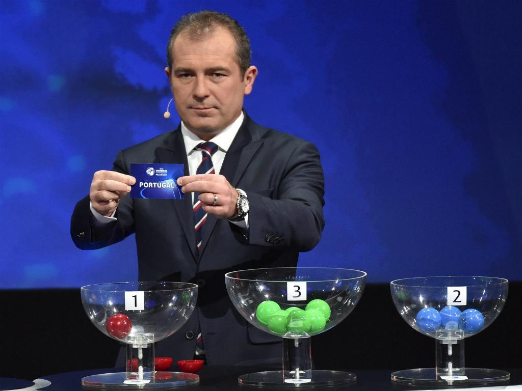 Sorteio Euro sub-21 2017