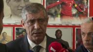 A reação de Santos à nomeação para melhor treinador do ano»