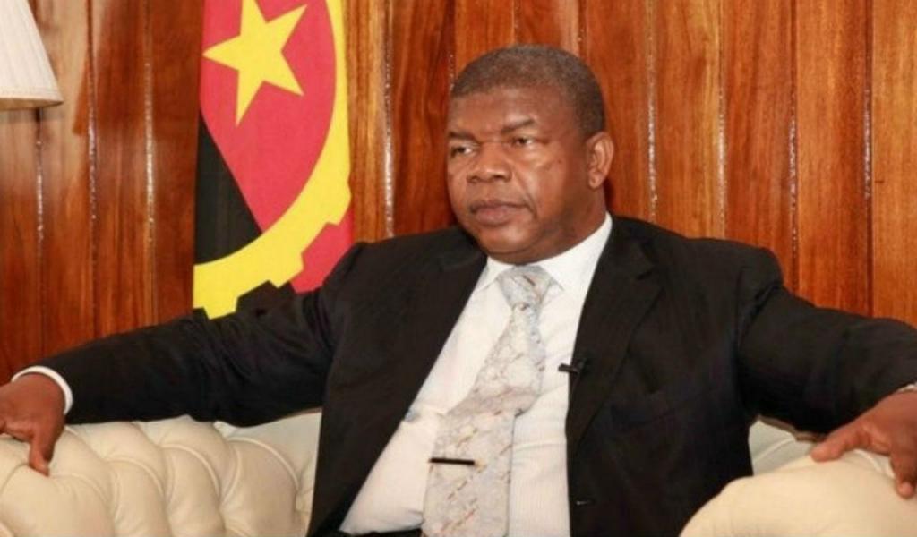 João Lourenço - presidente de Angola
