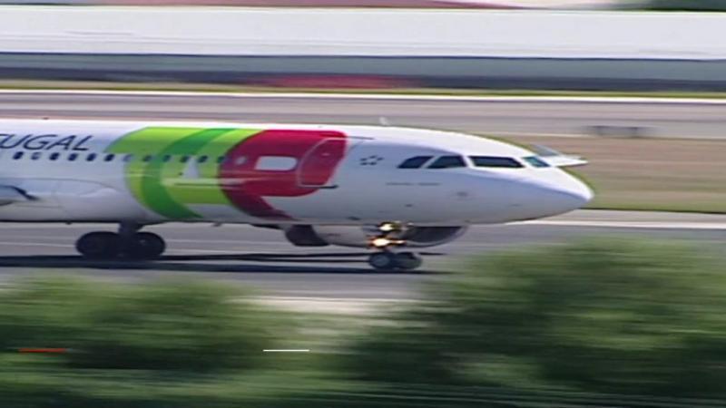 TAP investigada em Espanha por aterragem com combustível no limite