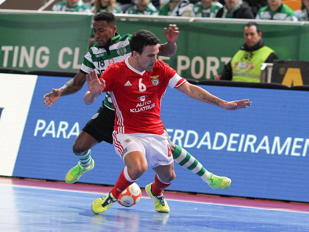 Futsal: Sporting-Benfica (Lusa)