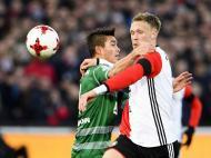 Feyenoord-Sparta Rotterdam (Lusa)