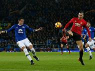 Everton-Manchester United (Lusa)