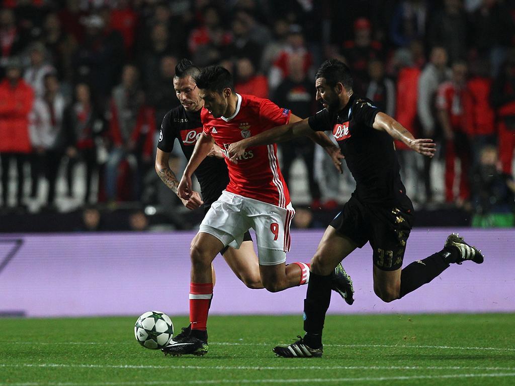 Benfica-Nápoles (Reuters)