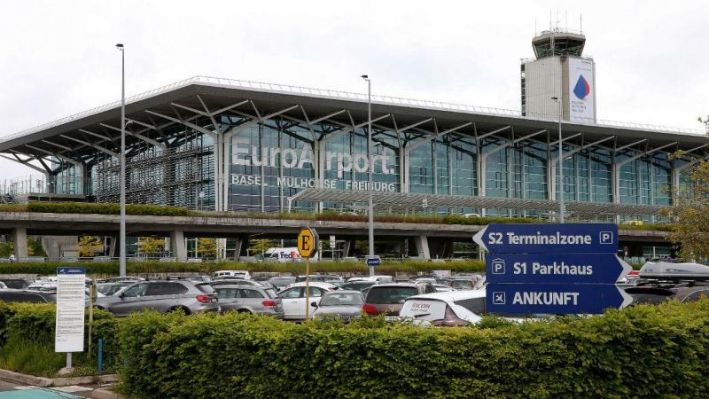 EuroAirport Basel Mulhouse Freiburg, perto de Basileia
