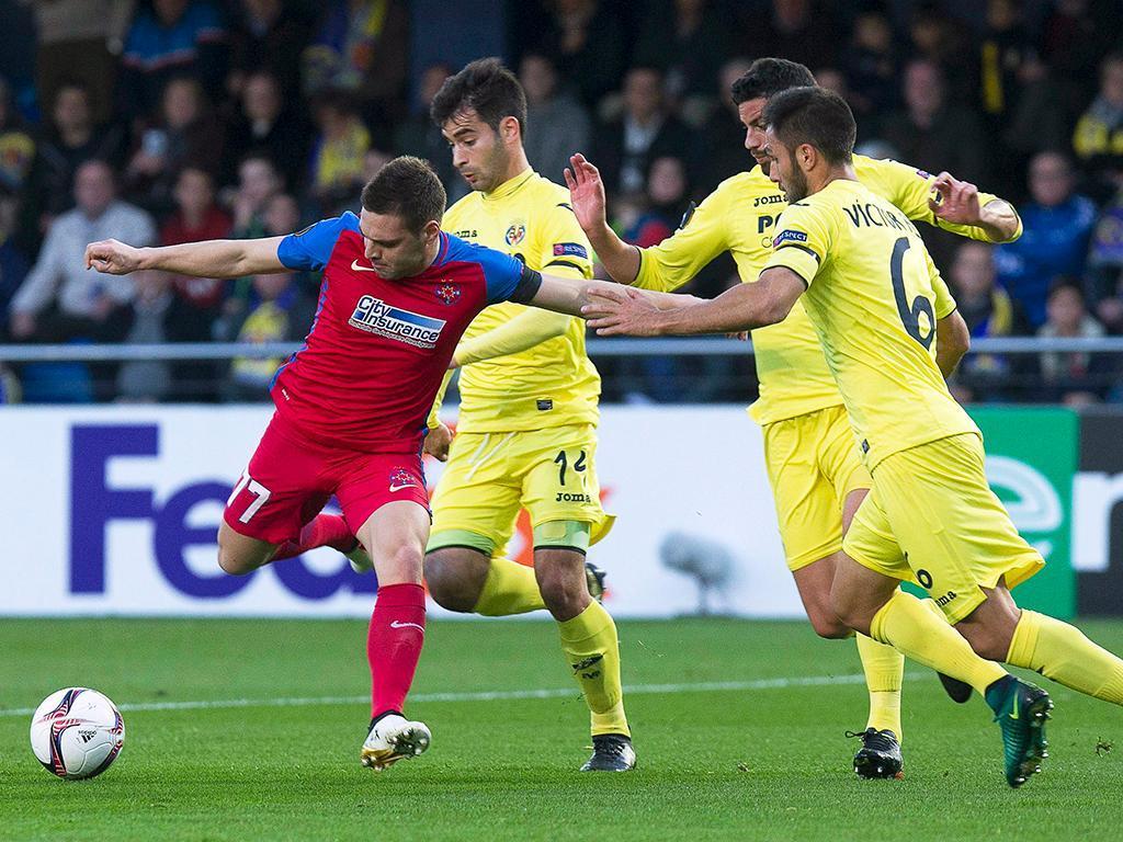 Villarreal-Steaua Bucuresti (Lusa)