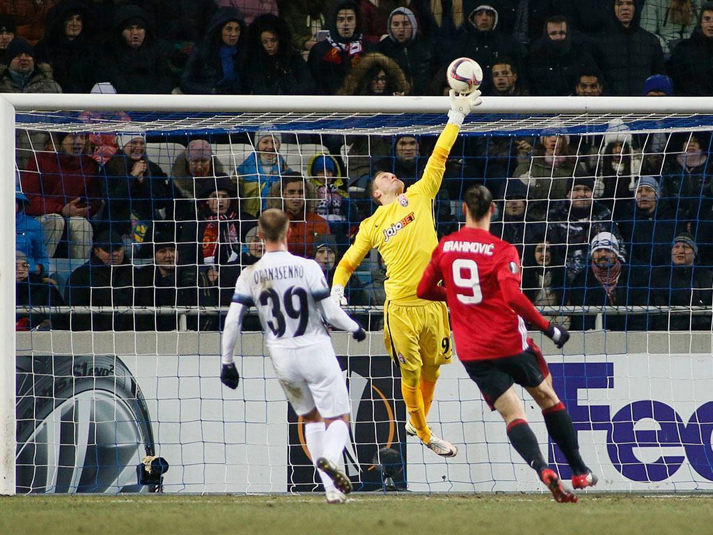 Zorya-Manchester United (Reuters)
