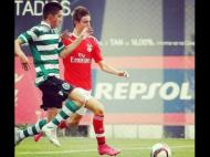Benfica-Sporting (Foto: Twitter oficial do SL Benfica)