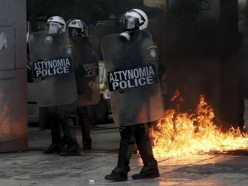 Polícia grega