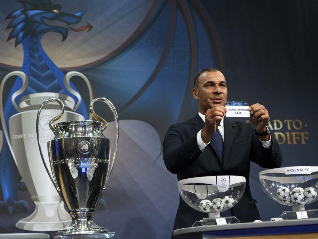 Liga dos Campeões: o sorteio dos oitavos