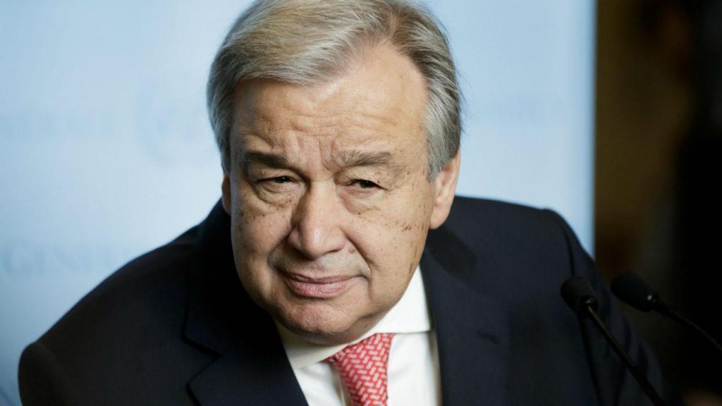 Juramento de Guterres na ONU