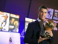Cristiano Ronaldo ganha a quarta Bola de Ouro (Foto LÉquipe)