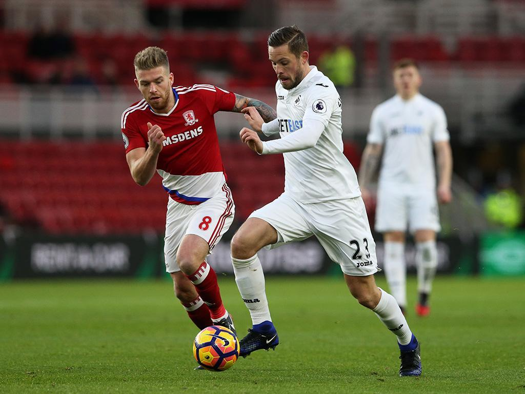 Middlesbrough-Swansea (Reuters)