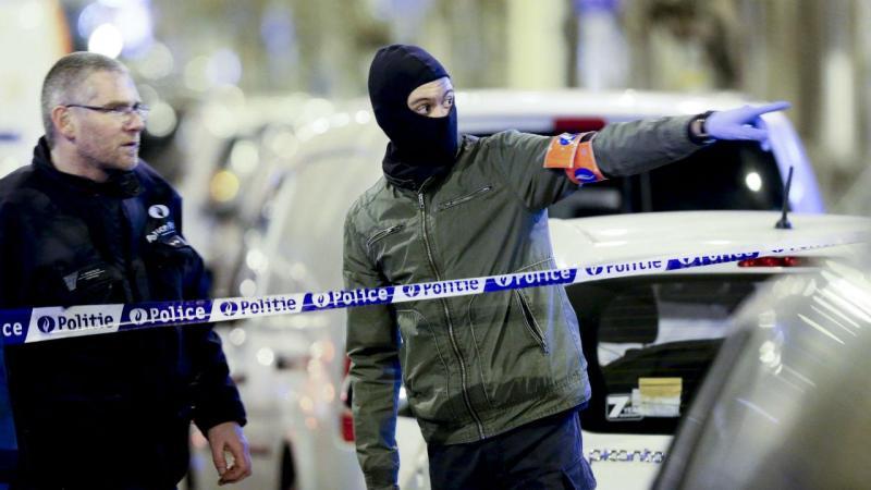 Operação antiterrorismo no bairro de Schaerbeek, em Bruxelas