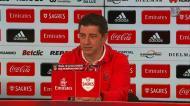 Vitória e a situação do Sporting: «Não gosto de balanços»