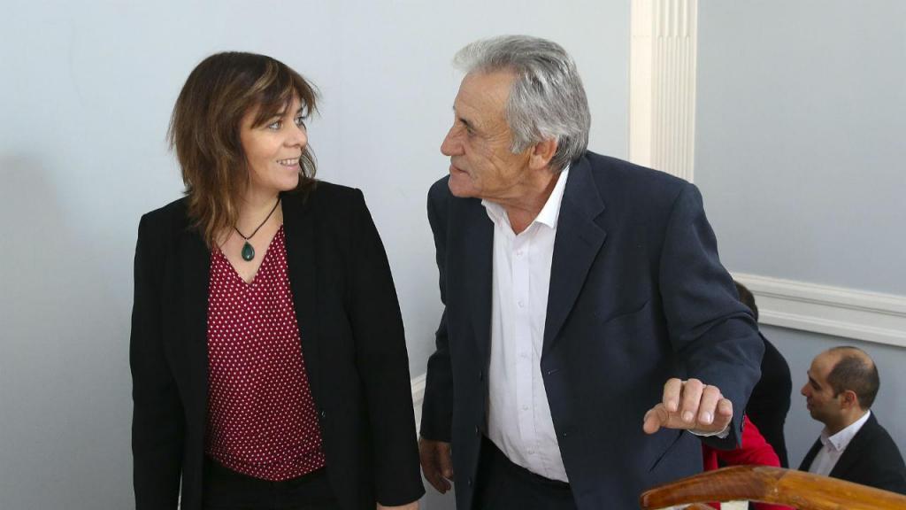 Catarina Martins e Jerónimo de Sousa