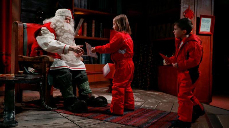 A casa do pai Natal
