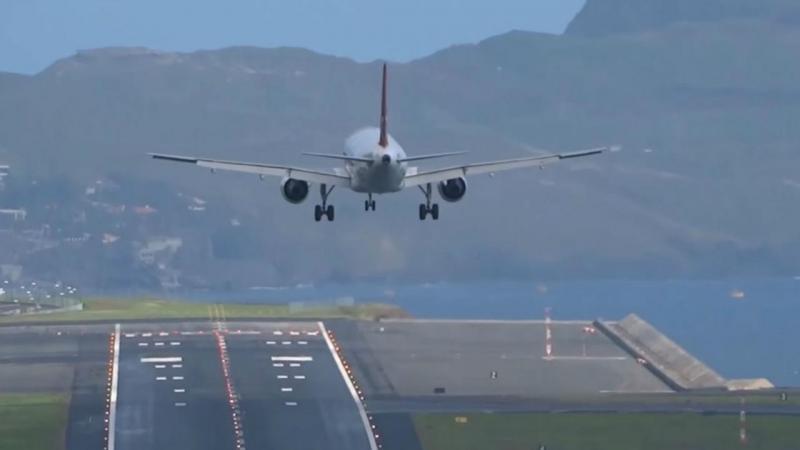 Avião suíço falha três aterragens na Madeira