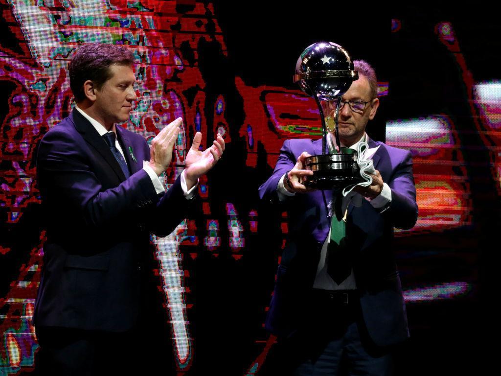 Chapecoense recebeu Taça Sul-Americana (Reuters)