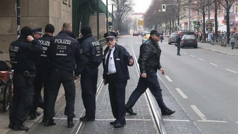 Operação de busca em Berlim