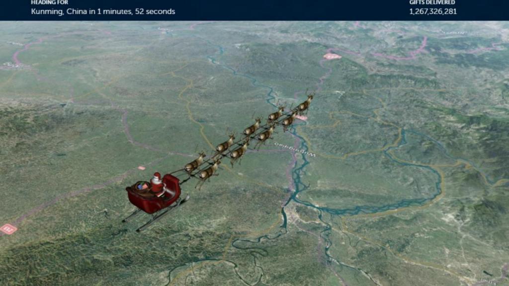 Onde anda o Pai Natal?