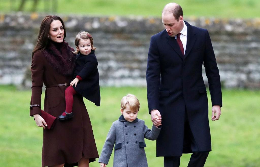 O Natal dos príncipes de Inglaterra