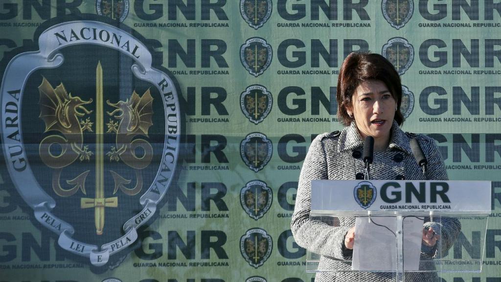 Constança Urbano de Sousa com a GNR