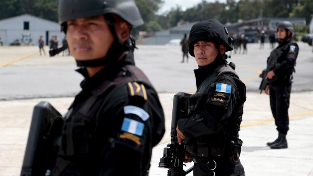 Polícia Guatemala