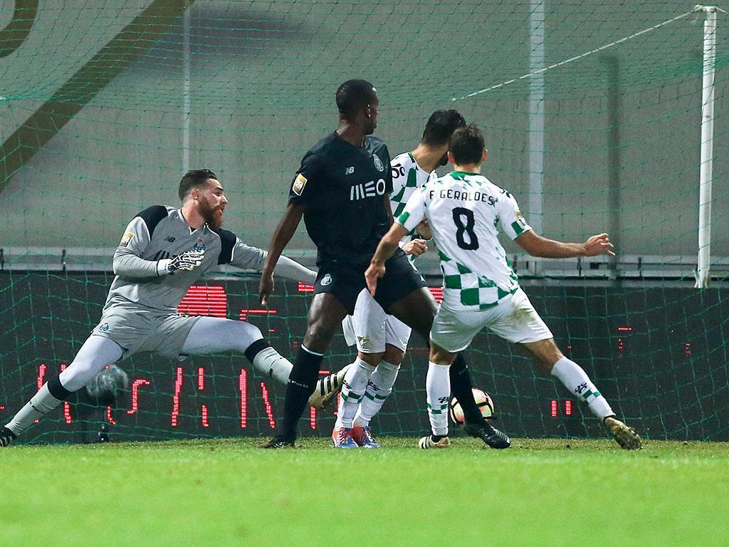 Moreirense-FC Porto (Lusa)