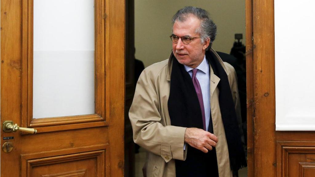 António Domingues - presidente cessante da CGD na Comissão Parlamentar