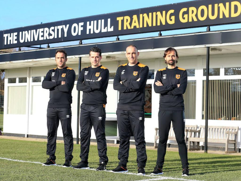 Marco Silva no Hull City (site oficial do clube)