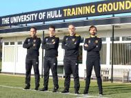 Marco Silva no Hull City (site oficial do clube)