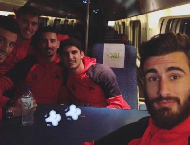 Benfica comboio (Instagram)