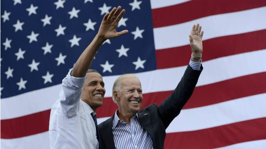 Obama e Joe Biden (07-09-2012), Iowa City, Estados Unidos