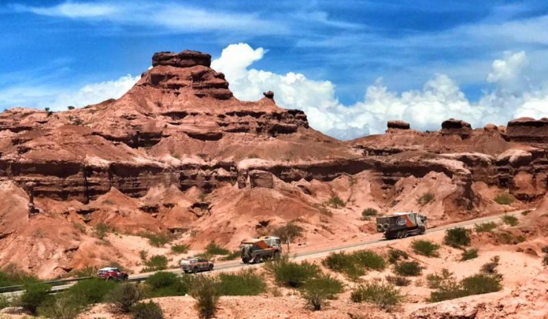 Dakar 2017 - a caminho de Chilecito