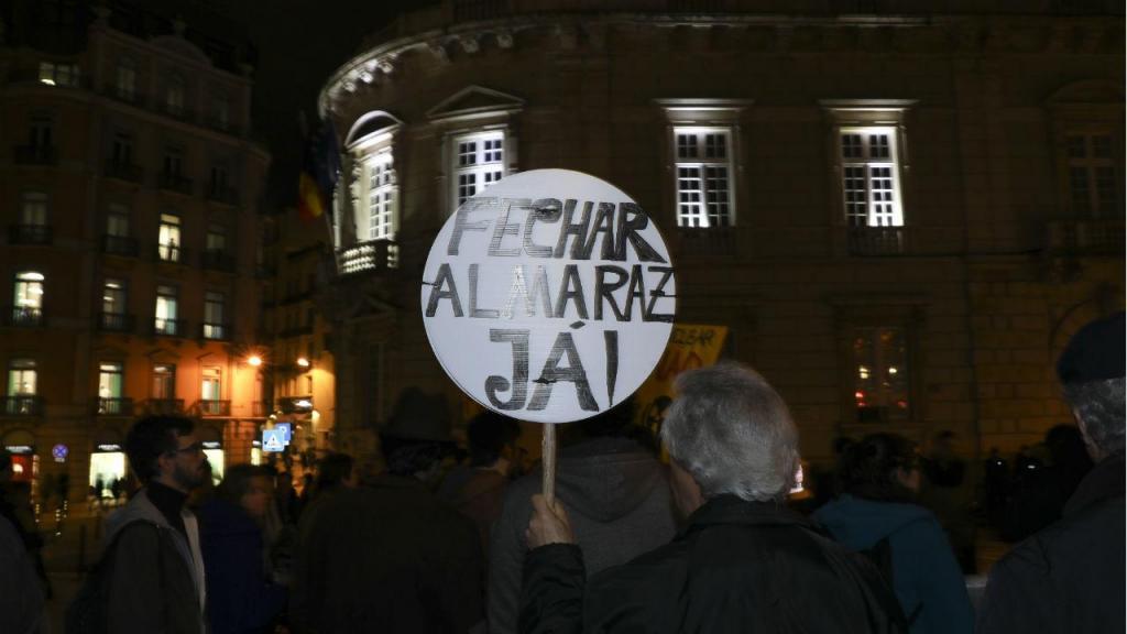 Protesto em Lisboa pelo fecho de Almaraz
