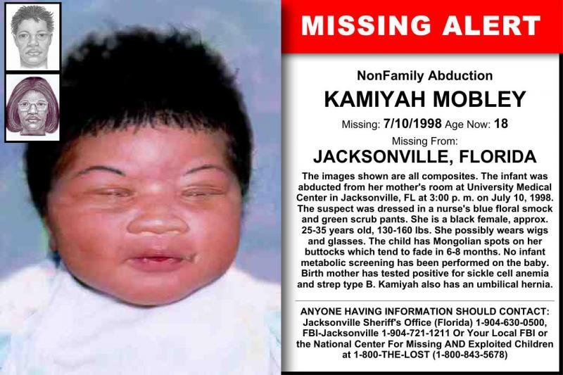 Criança roubada na maternidade há 18 anos é encontrada nos EUA