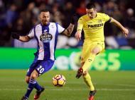 Deportivo Corunha-Villarreal (Lusa)