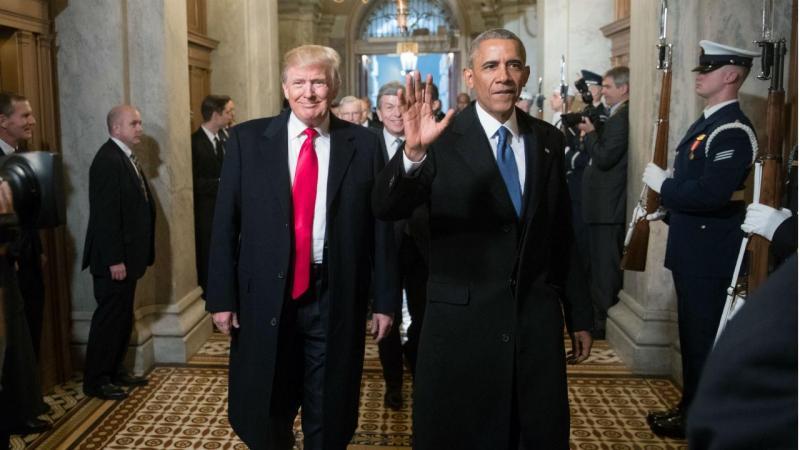 Adeus Obama. Olá Presidente Trump