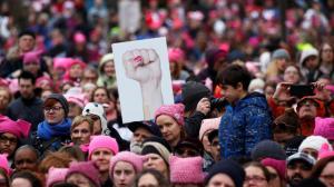 Mulheres contra Trump em Washington