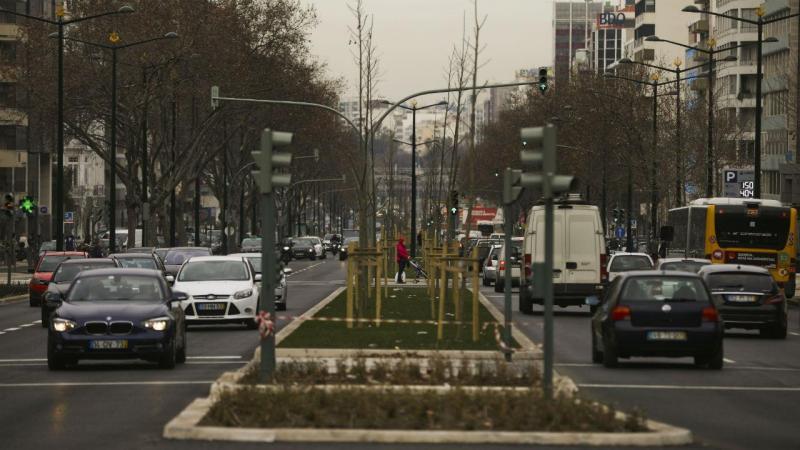 Lisboa: obras no Eixo Central concluídas